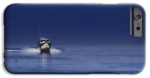 Jeff Swanson iPhone Cases - Done Fishing iPhone Case by Jeff Swanson
