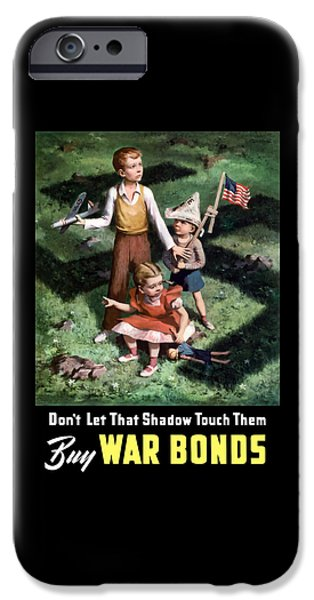 World War I iPhone Cases - Dont Let That Shadow Touch Them iPhone Case by War Is Hell Store