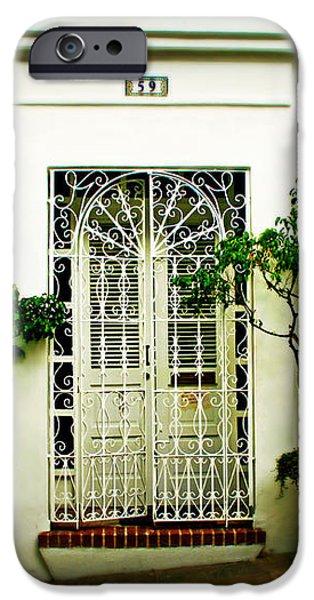 Door 59 iPhone Case by Perry Webster
