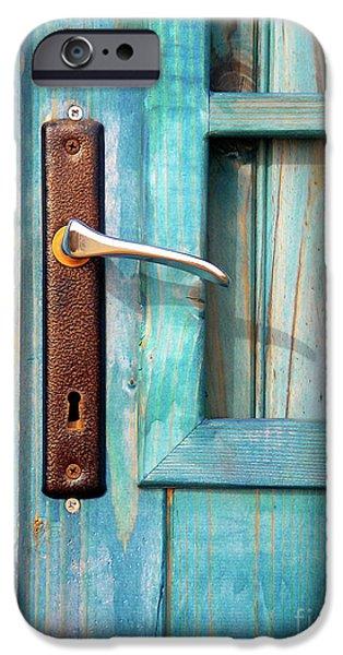 Door Handle iPhone Case by Carlos Caetano