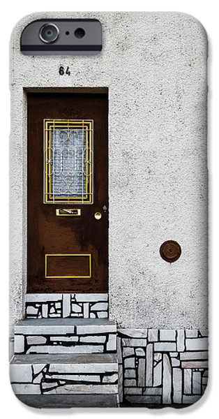 Dirty iPhone Cases - Door No 84 iPhone Case by Marco Oliveira