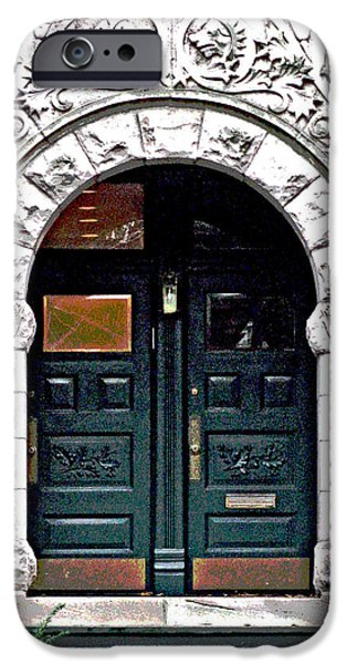 Door Series iPhone Case by Ginger Geftakys