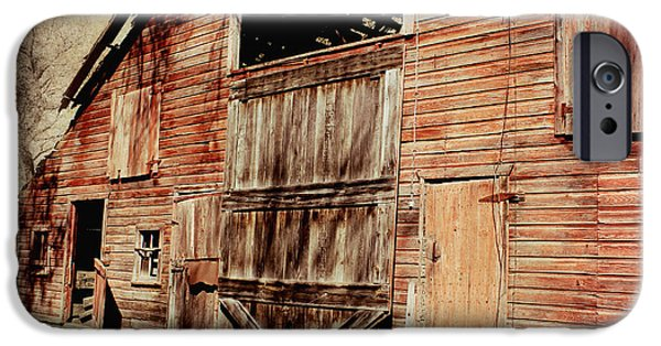 Shed iPhone Cases - Doors Open iPhone Case by Julie Hamilton