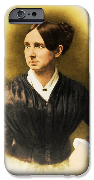 Reformer iPhone Cases - Dorothea Dix, American Reformer iPhone Case by Photo Researchers