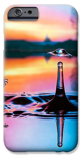Double liquid art iPhone Case by William Lee