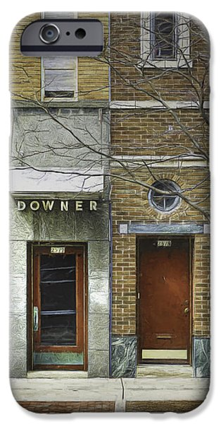 Facade Digital iPhone Cases - Downer iPhone Case by Scott Norris