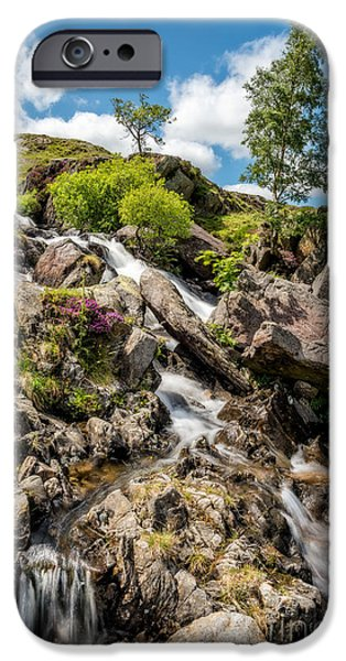 July iPhone Cases - Downstream iPhone Case by Adrian Evans