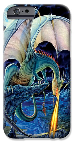 Dragon iPhone Cases - Dragon Causeway iPhone Case by The Dragon Chronicles - Robin Ko