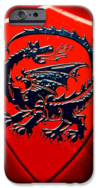Weapon iPhone Cases - Dragon. Reichsburg Cochem. iPhone Case by Andy Za