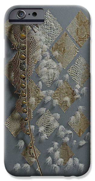 Shed Mixed Media iPhone Cases - Dragon Smoke iPhone Case by Chris Maynard