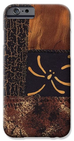 Fall Tapestries - Textiles iPhone Cases - Dragonfly Dance iPhone Case by Linda Mae Olszanski