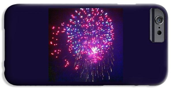 July 4th iPhone Cases - Dream Catcher Fireworks iPhone Case by Regina Strehl