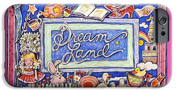 Sand Castles iPhone Cases - Dream Land iPhone Case by Gail McClure