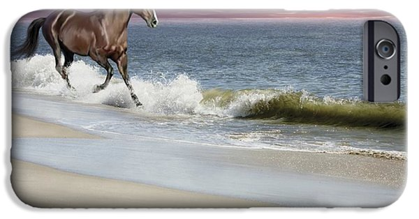 Bhymer iPhone Cases - Dreamer On The Beach iPhone Case by Barbara Hymer