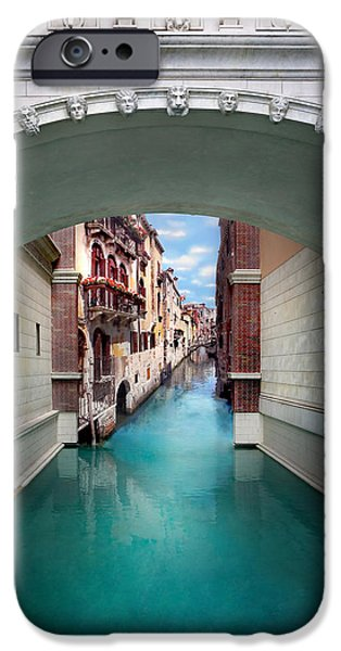 Ornate iPhone Cases - Dreaming Of Venice iPhone Case by Az Jackson