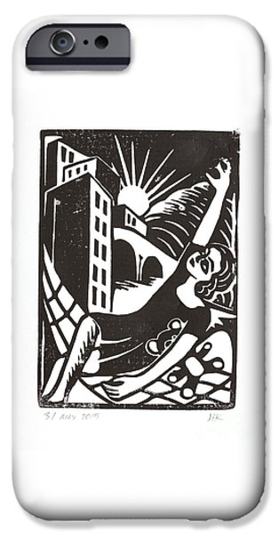 Relief Print iPhone Cases - Dreams iPhone Case by Igor Kislev