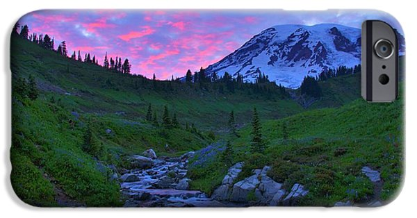 Creek iPhone Cases - Dreamtime iPhone Case by Steve Luther