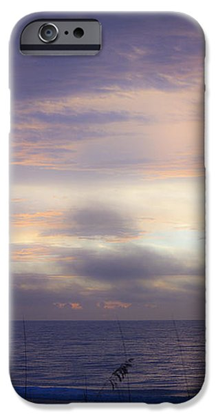 Dreamy Blue Atlantic Sunrise iPhone Case by Teresa Mucha
