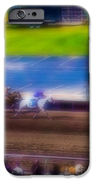 One iPhone Cases - Dreamy Race iPhone Case by Heather Joyce Morrill