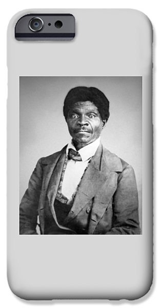 Black History iPhone Cases - Dred Scott iPhone Case by War Is Hell Store