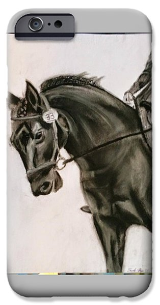 Diy iPhone Cases - dressage Horse iPhone Case by Sarah Ryan