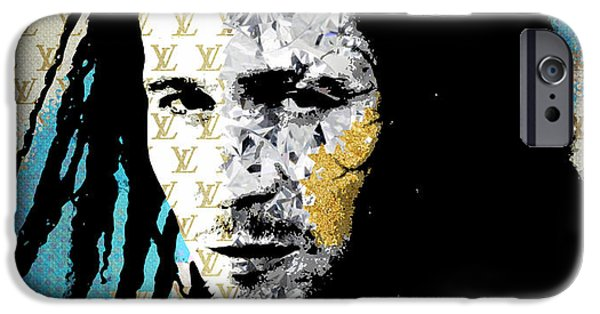Scarface Mixed Media iPhone Cases - Drexl  iPhone Case by Surj LA