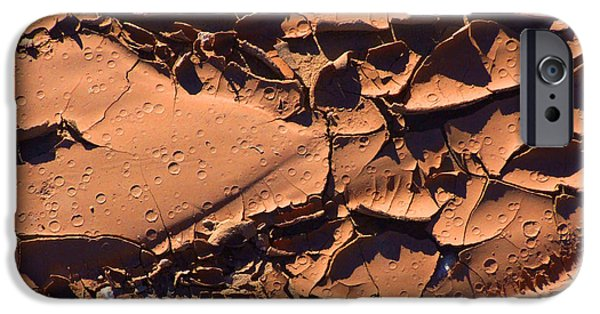 Nature Abstracts iPhone Cases - Dried Mud 5c iPhone Case by Mike McGlothlen