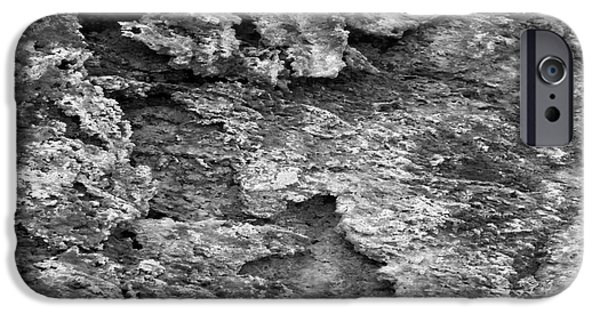 Nature Abstracts iPhone Cases - Dried Mud 6 iPhone Case by Mike McGlothlen