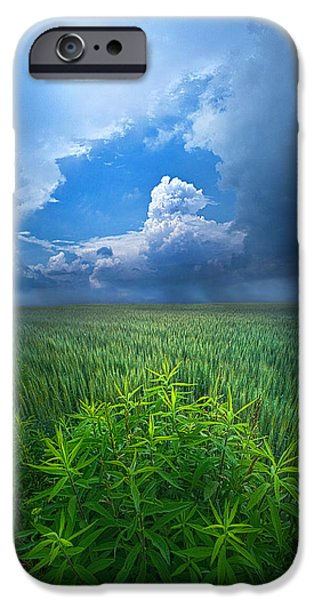 Storm iPhone Cases - Drifting Away iPhone Case by Phil Koch