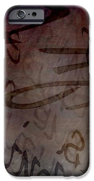Drifting Expressions iPhone Case by Vicki Ferrari