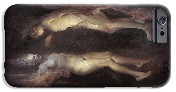 Caravaggio iPhone Cases - Drifting iPhone Case by Odd Nerdrum