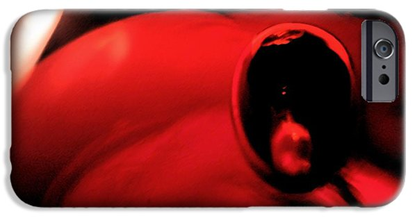 Abstract Digital Glass Art iPhone Cases - Drifting iPhone Case by Uleria Caramel