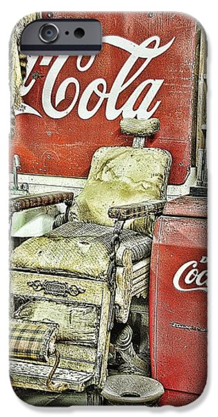 Interior Still Life iPhone Cases - Drink Coca-Cola iPhone Case by Jan Amiss Photography