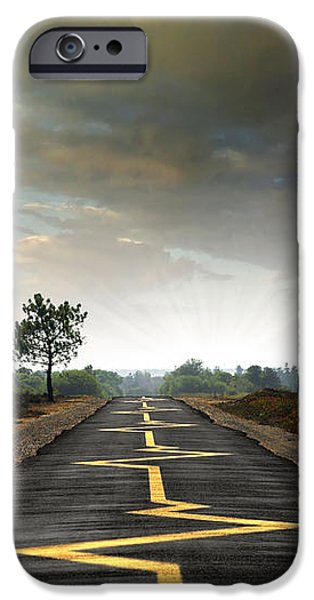 Drive Safely iPhone Case by Carlos Caetano