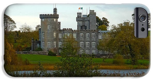 Dromoland iPhone Cases - Dromoland Castle iPhone Case by Beth Wolff