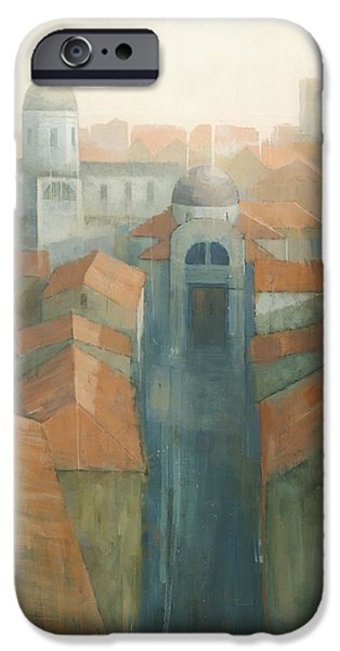 Dubrovnik Rooftops iPhone Case by Steve Mitchell