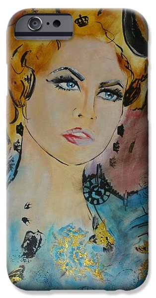 Duchess iPhone Cases - Duchess Anastasia iPhone Case by Victoria Rosenfield