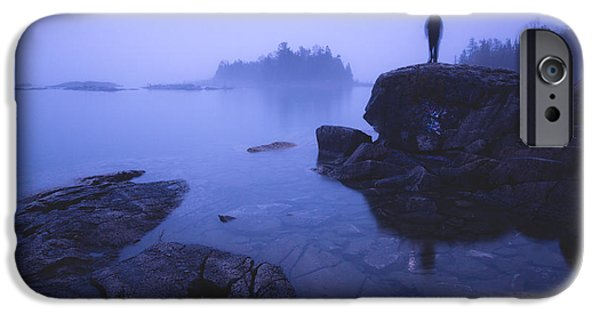 Fog Mist iPhone Cases - Dunks Point at Sunrise iPhone Case by Cale Best
