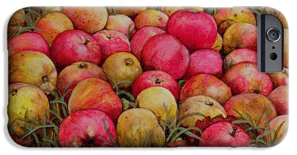 Apple iPhone Cases - Durnitzhofer Apples iPhone Case by Ditz