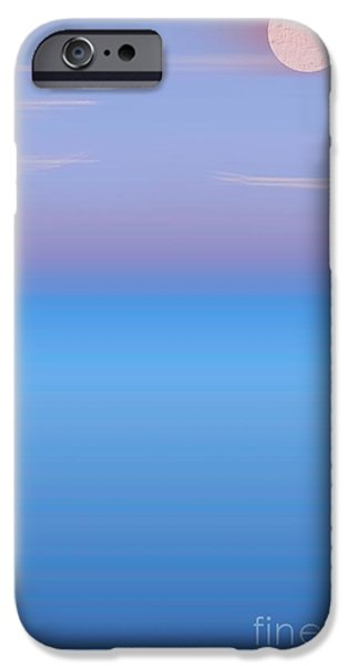 Abstractions Pastels iPhone Cases - Dusky Sky iPhone Case by Jerod Roberts
