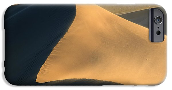 Sand Dunes iPhone Cases - Dust in the Wind iPhone Case by Mike Dawson