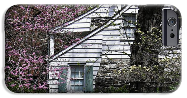 States iPhone Cases - Dyckman House 1 iPhone Case by Sarah Loft