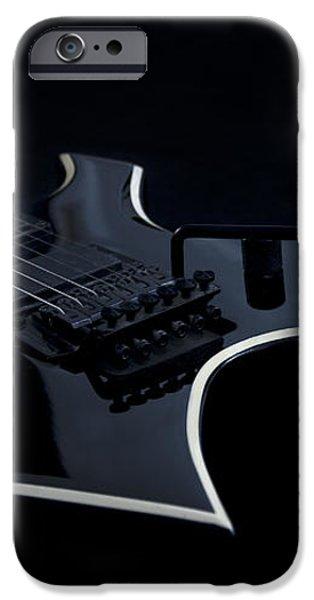 E-Guitar iPhone Case by Melanie Viola