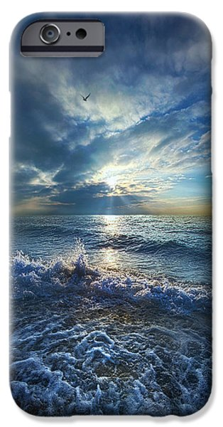 Chicago iPhone Cases - Each Changing Place With That Which Goes Before iPhone Case by Phil Koch