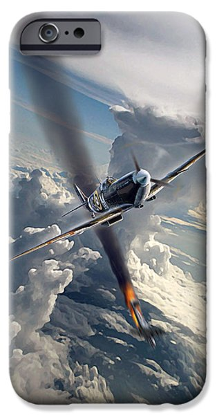 Wwi iPhone Cases - Eagle Day iPhone Case by Peter Van Stigt
