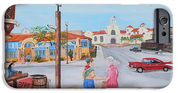 Old Town Temecula iPhone Cases - Eagle Scout iPhone Case by Eric Johansen