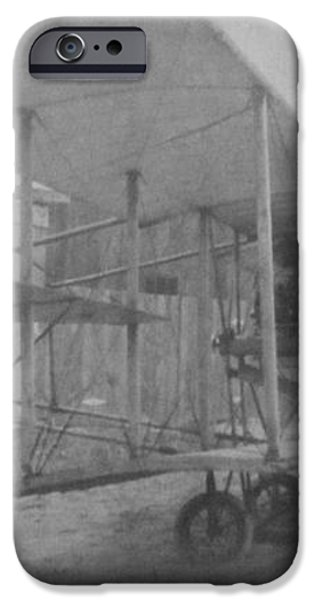 Early Aviation iPhone Case by Gwyn Newcombe