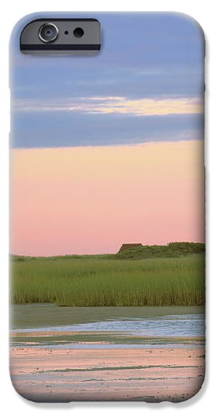 Early Light at Wood End Light iPhone Case by Roupen  Baker