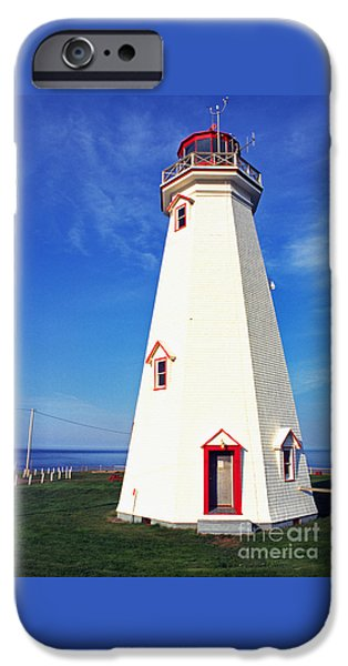 East Point Lightstation PEI iPhone Case by Thomas R Fletcher