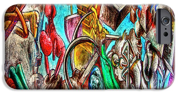 Vandalism iPhone Cases - East Side Gallery iPhone Case by Joan Carroll